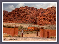 Private Property am Red Rock Canyon