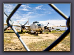 Lockheed P2 Neptune - Marineaufklärer im South Bighorn County Airport