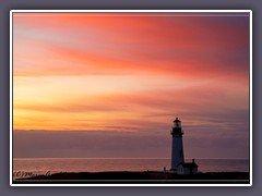 Im Abendlicht - Yaquina Head LIght