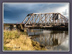 Old Northern Pacific Railroad Swingbridge - Aberdeen