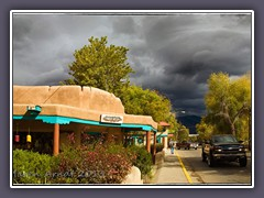 Taos New Mexico im Herbst