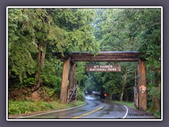 Mount Rainier National Park Nisqually Entrance