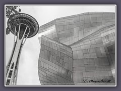 Space Needle und Museum MoPop