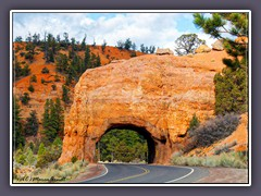 Bryce Canyon - Utah Highway 12 - Tunnel Trail