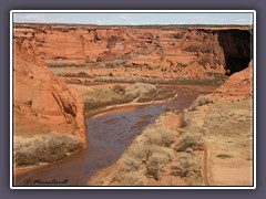 Canyon de Chelly - Chinle River
