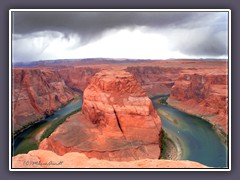Horseshoe Bend - Colorado River ist Teil des Glen Canyon