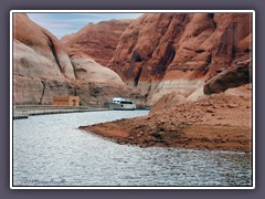 Lake Powell  - Anleger zur Rainbow Bridge