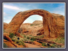 Lake Powell - Rainbow Bridge - Nonnezoshi - Navajo Heiligtum