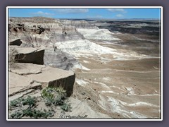 Painted Desert - Mondlandschaft