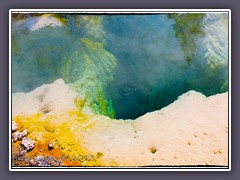 Colors of the West Thumb Geyser Basin