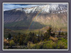 Regenbogen am Mount Everts