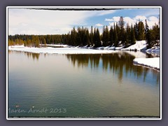 Yellowstone River at Fishingbridge